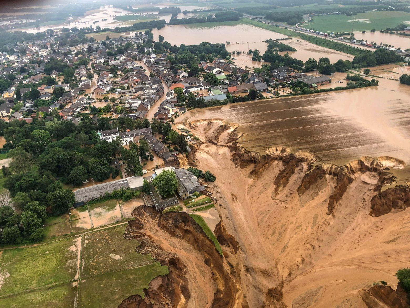Γερμανία: Οι πλημμύρες κάνουν την κλιματική αλλαγή κεντρικό θέμα της πολιτικής αντιπαράθεσης