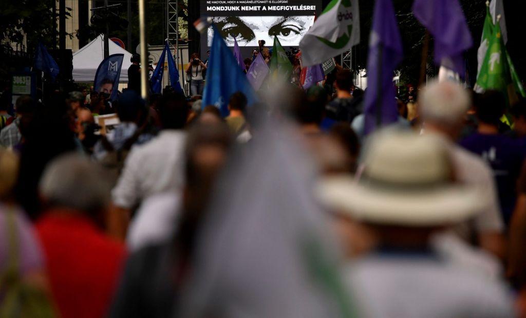 Υπόθεση Pegasus: Διαδηλώσεις στην Ουγγαρία εναντίον της κατασκοπείας