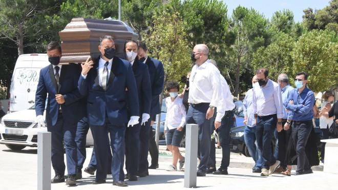Βασίλης Τοκάκης: Θλίψη στην κηδεία του