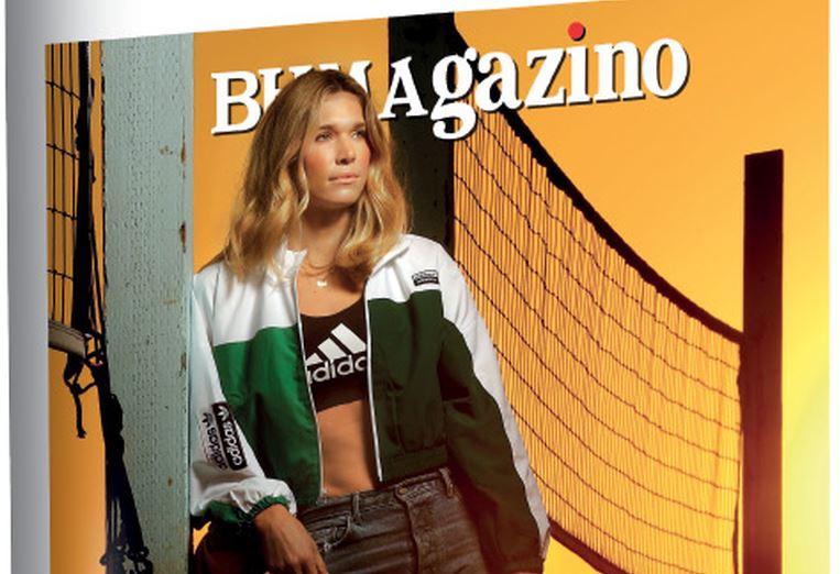 Το «BHMAGAZINO» με την super star του beach Volley Alix Klineman στο εξώφυλλο