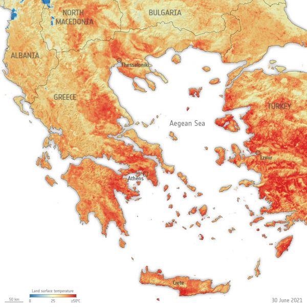 Mediterranean heatwave