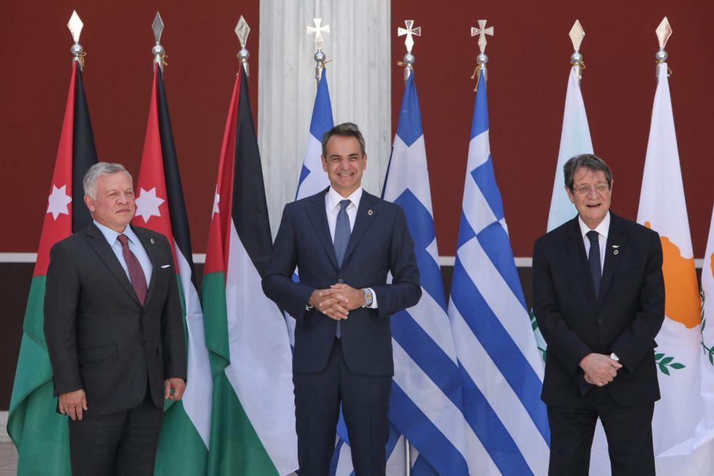 Τριμερής Σύνοδος: «Ελλάδα, Κύπρος και Ιορδανία έχουν εμβαθύνει τη συνεργασία τους»