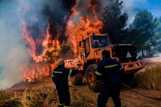 Πολύ υψηλός κίνδυνος πυρκαγιάς και την Παρασκευή – Ποιες περιοχές είναι στο «πορτοκαλί»
