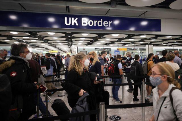 FT: Η Βρετανία ανοίγει τα σύνορα για εμβολιασμένους από ΕΕ – ΗΠΑ