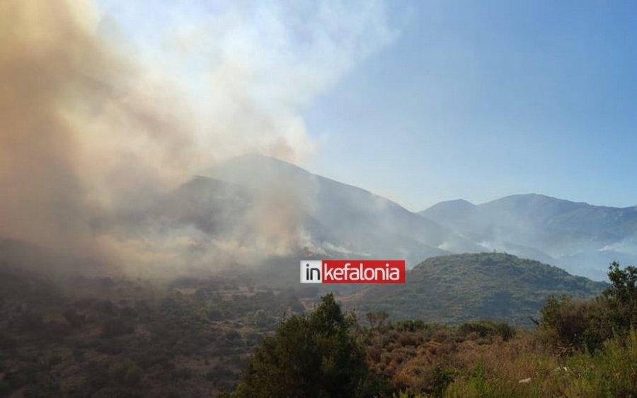 Κεφαλονιά: Καταγγελία ότι η πυρκαγιά ξεκίνησε από βοσκό που πήγε να κάψει χόρτα