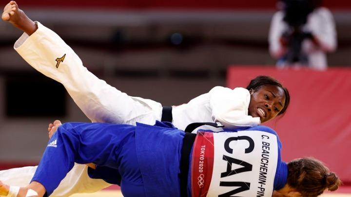 Xρυσό μετάλλιο για την Γαλλίδα Αγκμπεγκνένου στο Τζούντο
