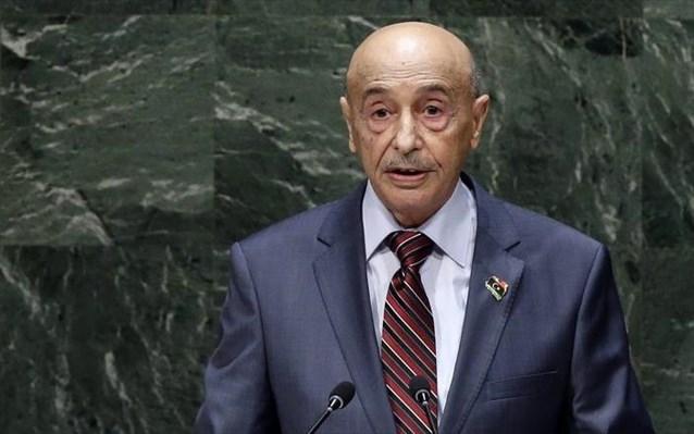 Ακίλα Σάλεχ: Να φύγουν όλα τα ξένα στρατεύματα από τη Λιβύη – «Παντελώς άκυρο» το μνημόνιο Σάρατζ-Ερντογάν