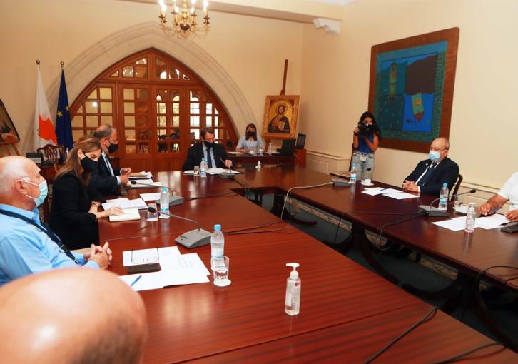 Κυπριακό: Συνάντηση Αναστασιάδη με το δήμαρχο Αμμοχώστου