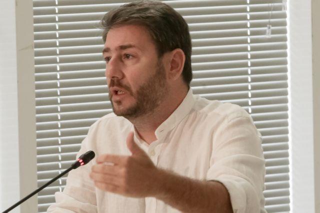 Ανδρουλάκης: Είμαι ΠΑΣΟΚ – Ανασυγκρότηση της Παράταξης με αποφασισμένους καμικάζι