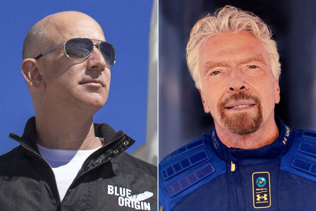 Δισεκατομμυριούχοι στο Διάστημα: Αντίστροφη μέτρηση για την εκτόξευση Μπέζος και Μπράνσον