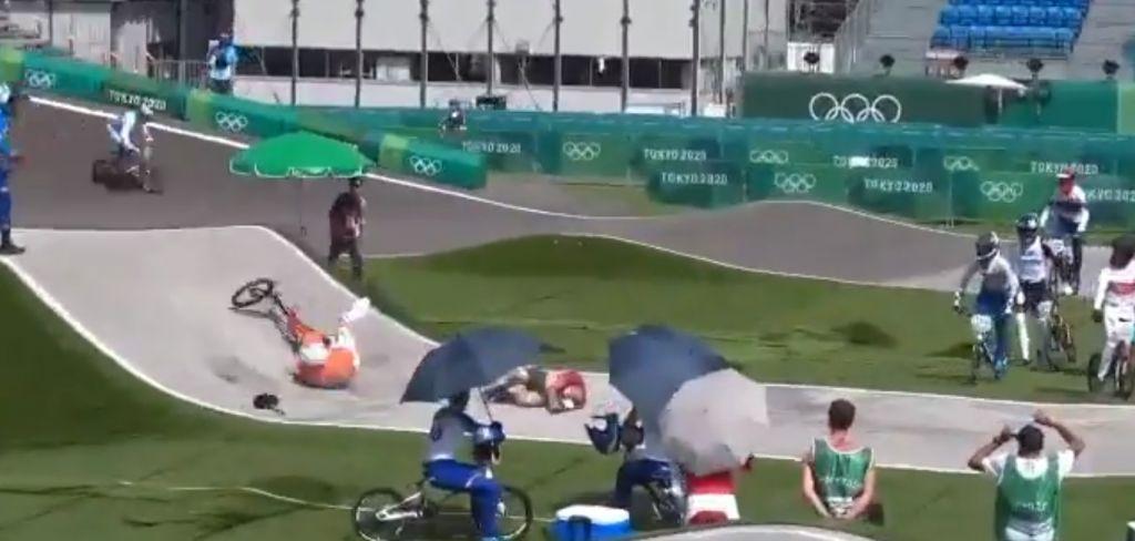 Ολυμπιακοί Αγώνες: Ποδηλάτης BMX τράκαρε με αξιωματούχο της διοργάνωσης