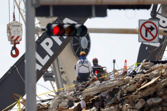 Φλόριντα – πολυκατοικία: Ανασύρθηκαν άλλοι δύο νεκροί – 22 τα θύματα και 126 οι αγνοούμενοι