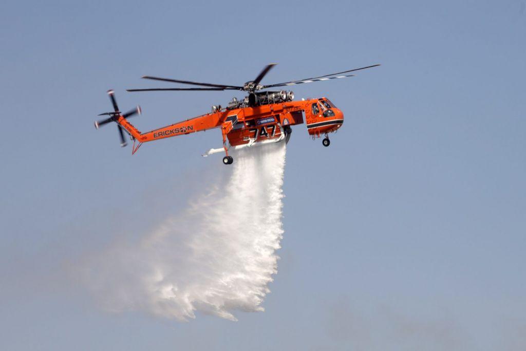Αίγιο: Μεγάλη πυρκαγιά στη Ζήρια – Συναγερμός στην Πυροσβεστική
