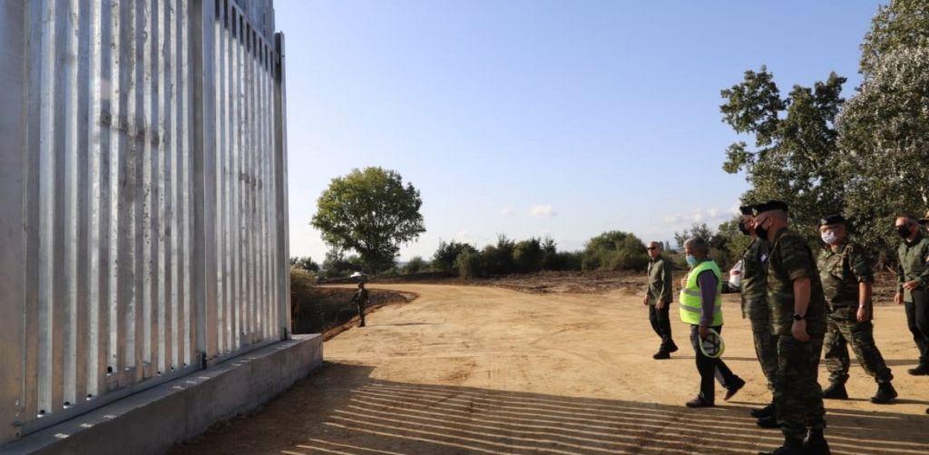 Εβρος: Εξετάζεται επέκταση του φράχτη ή κατασκευή νέων τμημάτων στα σύνορα με την Τουρκία