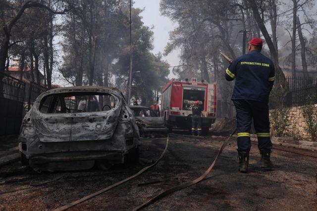Πατούλης: Δεν αποκλείεται ο εμπρησμός στις χθεσινές πυρκαγιές