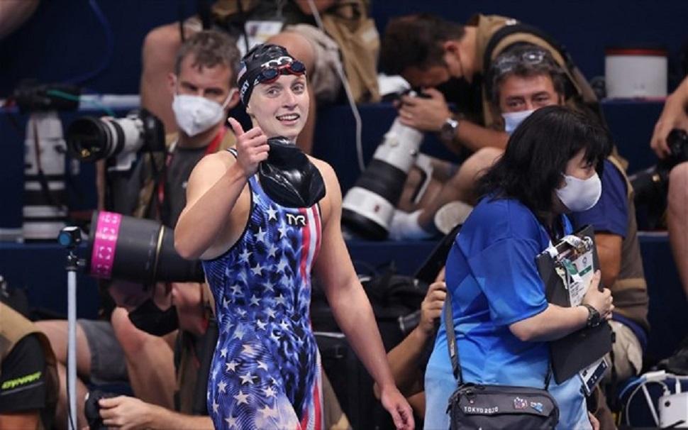 Ολυμπιακοί Αγώνες – Τρίτο χρυσό στα 800μ ελεύθερο για τη Λεντέκι