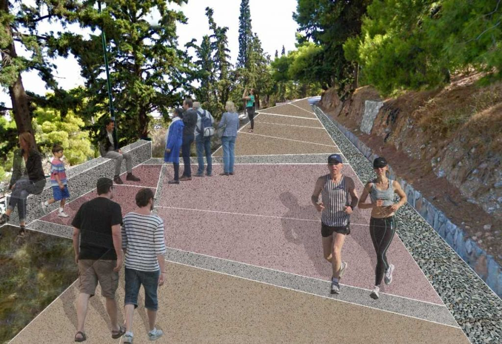 Lycabettus Hill: This is how it will be after the regeneration