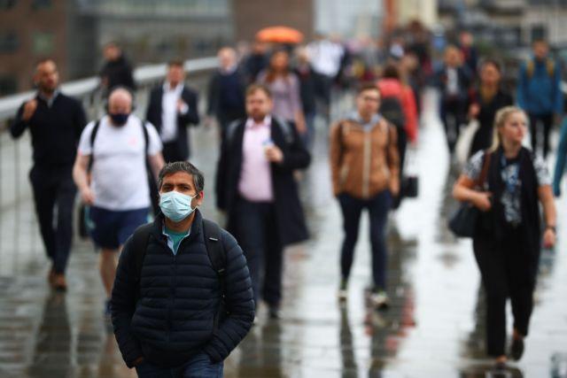 Βρετανία: Για πρώτη φορά μετά τον Ιανουάριο πάνω από 30.000 κρούσματα