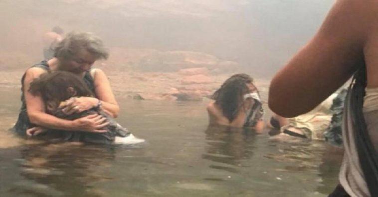Μάτι: Η ιστορία πίσω από τη συγκλονιστική φωτογραφία που τράβηξε ένας 14χρονος