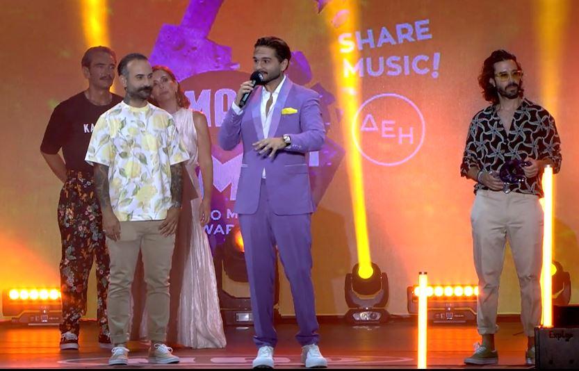 Οι ΜΕΛΙSSES με «Μισή Καρδιά» κέρδισαν το βραβείο για την καλύτερη μπαλάντα της χρονιάς