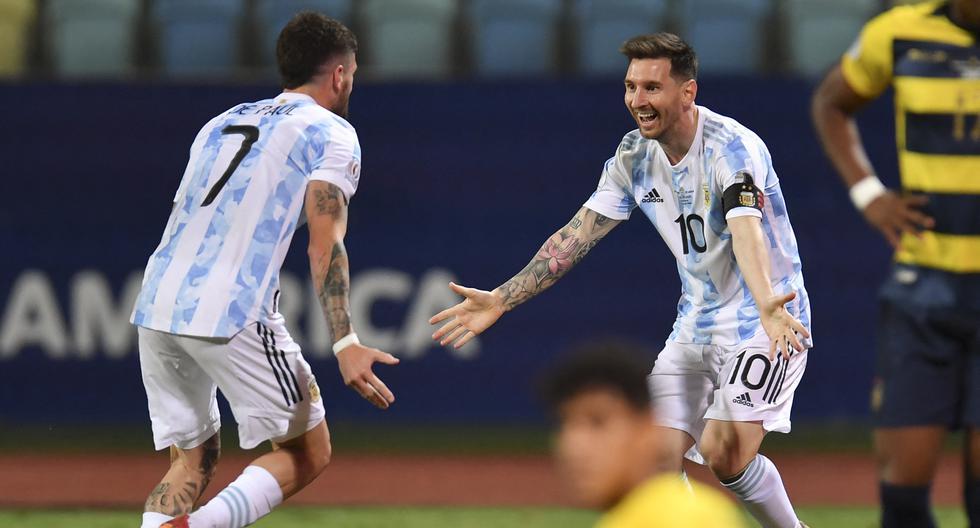 Αργεντινή – Εκουαδόρ 3-0: Ο Μέσι έστειλε στα ημιτελικά την Αλμπισελέστε