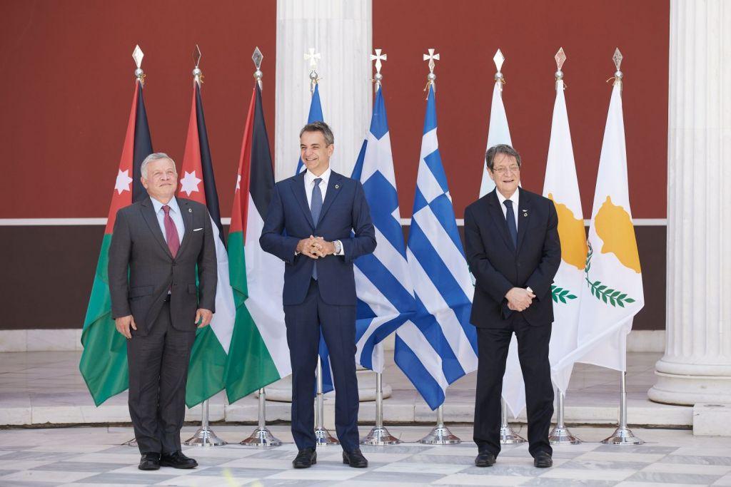 Κοινή δήλωση Ελλάδας – Ιορδανίας – Κύπρου: Στήριξη σε δίκαιη λύση του Κυπριακού