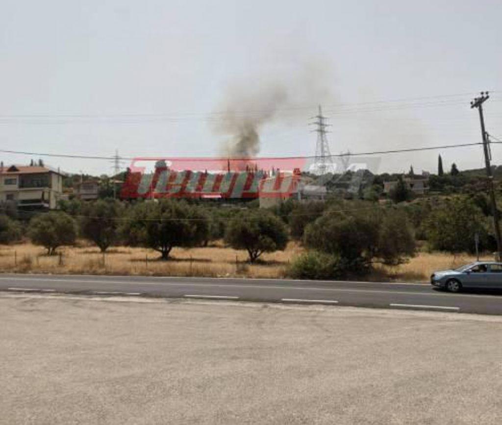 Πάτρα: Μεγάλη φωτιά στον Προφήτη Ηλία – Εντολή εκκένωσης της περιοχής