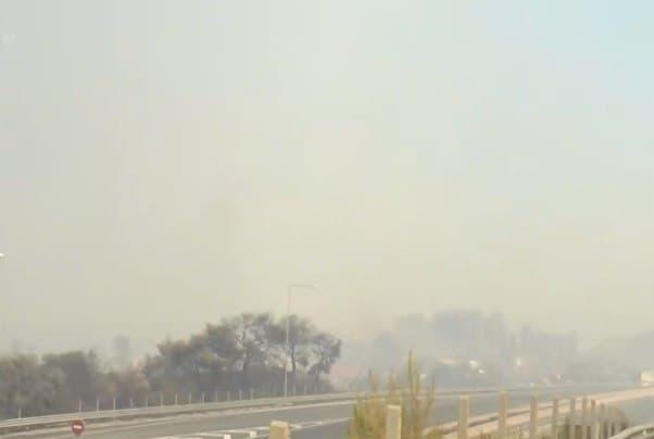Πύρινη κόλαση στην Αχαΐα – Κλειστή η γέφυρα Ρίου-Αντιρρίου προς Πάτρα – Η φωτιά πέρασε την Εθνική Οδό