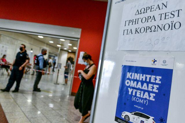 Κοροναϊός: Πού θα γίνονται δωρεάν rapid tests την Τρίτη