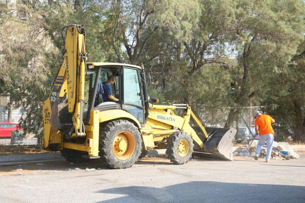 Δήμος Πειραιά: Επιχείρηση καθαρισμού του ΣΕΦ
