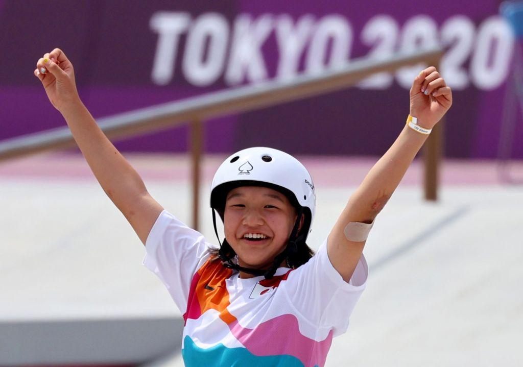 Έγραψε ιστορία η 13χρονη γιαπωνέζα Μομίγι Νισίγια – Έγινε χρυσή ολυμπιονίκης στο street skateboard
