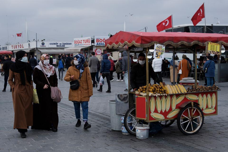 Τουρκία: Παραμένει η ανησυχία με πάνω από 22.000 κρούσματα για δεύτερο συνεχόμενο 24ωρο