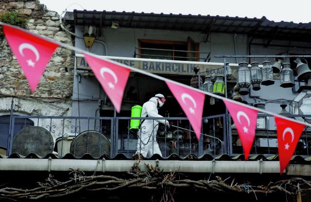 Έντονη ανησυχία για την πανδημία στην Τουρκία – Ξανά πάνω από 10.000 τα νέα κρούσματα