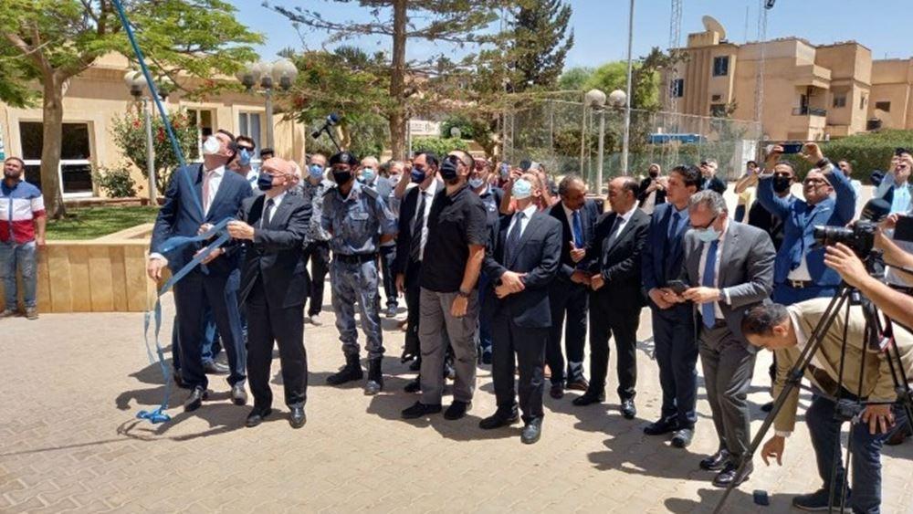 Εγκαινιάστηκε το ελληνικό προξενείο στη Βεγγάζη – Η «επιστροφή» της Ελλάδας στη Λιβύη