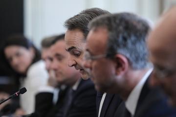 Μητσοτάκης: Σύσκεψη για την πορεία της πορεία της Ελληνικής Αεροπορικής Βιομηχανίας