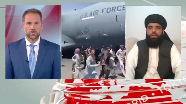 Αποκλειστικά στο MEGA το β' μέρος της συνέντευξης του εκπροσώπου των Ταλιμπάν