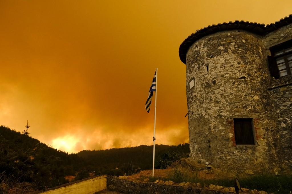 Θλιβερό ποσοστό – To 1/3 των δασών της Εύβοιας κάηκε από την πρόσφατη πυρκαγιά
