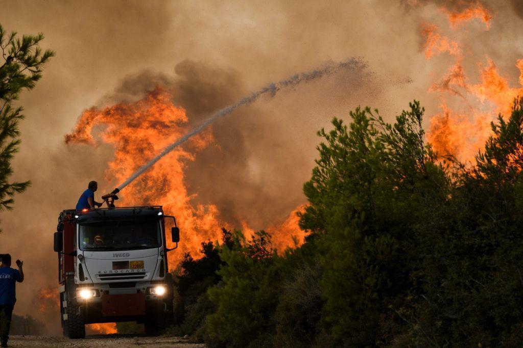 Χαρδαλιάς – 154 πυρκαγιές συνολικά σήμερα – Πάνω από 60 ενεργά μέτωπα – Τα πιο δύσκολα σημεία