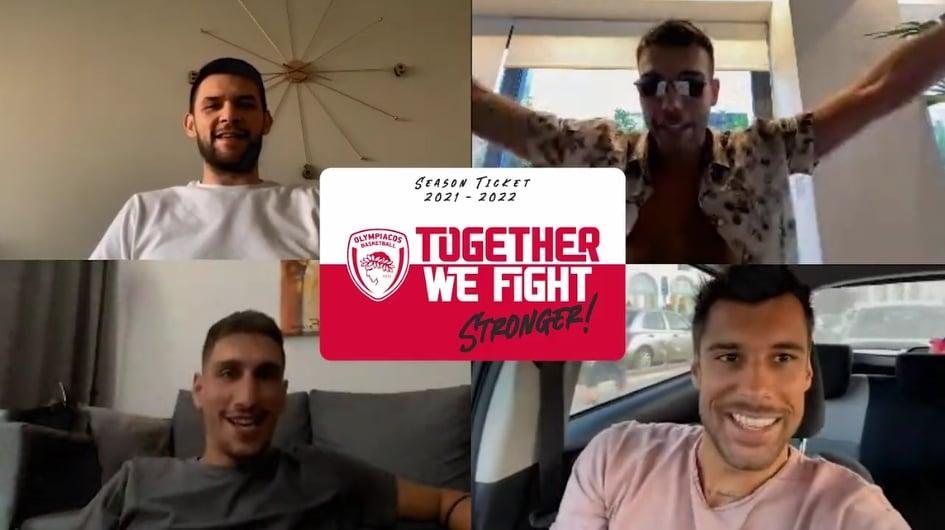 Το βίντεο της ΚΑΕ Ολυμπιακός για τους νέους κατόχους εισιτηρίων διαρκείας