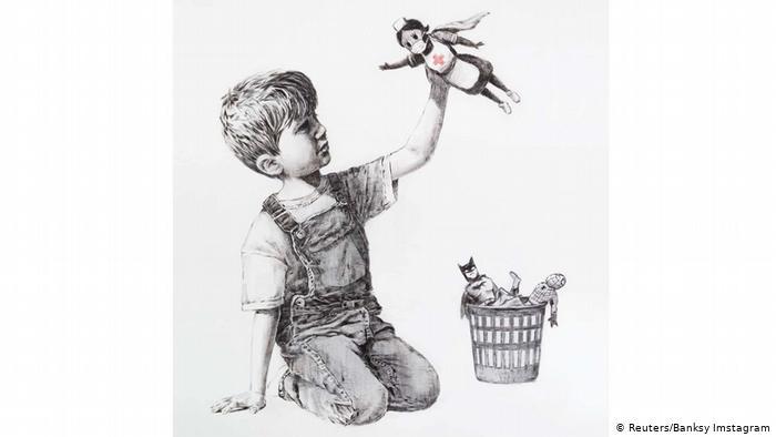 Banksy – Από το προσφυγικό στην κλιματική αλλαγή – Τα συγκλονιστικά έργα του που κοσμούν βρετανικές πόλεις