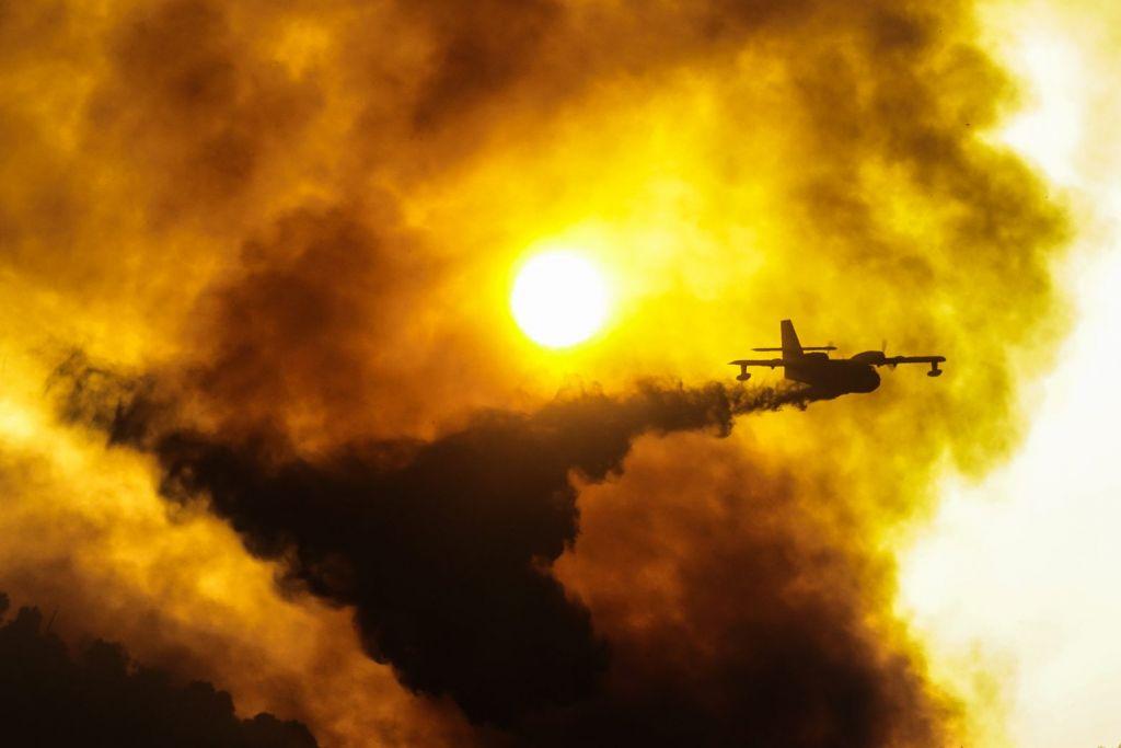 Φωτιές – Μάχη με το χρόνο και τις φλόγες σε Εύβοια και Ηλεία – Ερχονται δυνατοί άνεμοι τις επόμενες ώρες