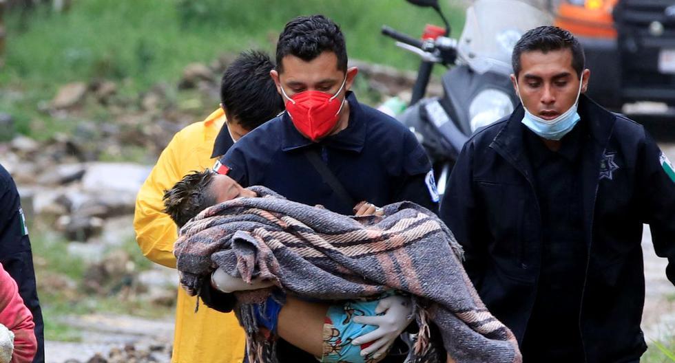 Μεξικό – Τους 11 έφθασαν οι νεκροί εξαιτίας του κυκλώνα Γκρέις