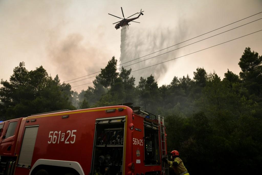Πυρκαγιές – Ποιες περιοχές αντιμετωπίζουν υψηλό κίνδυνο για την Τετάρτη 25 Αυγούστου