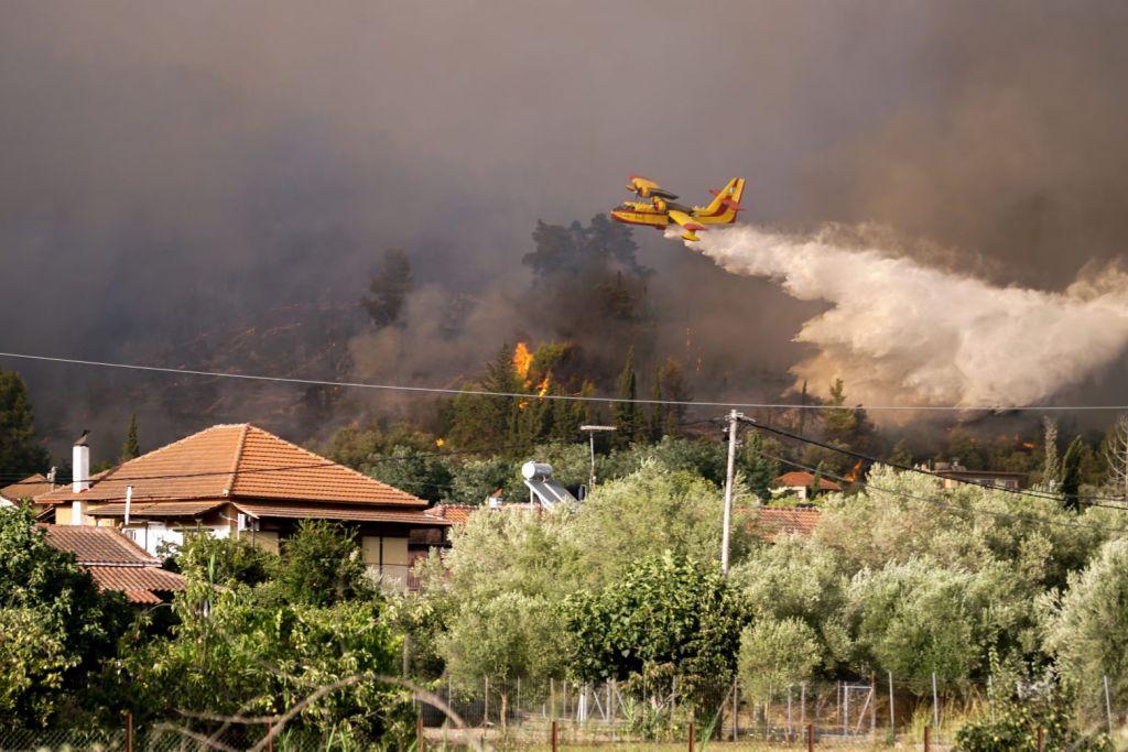 Χαρδαλιάς – Επτά πυρκαγιές ταυτόχρονα στην Ηλεία – 118 φωτιές σε ένα 24ωρο στην Ελλάδα