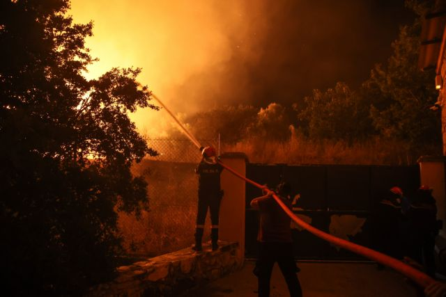 Rekindled wildfire north of Athens causes evacuation of nearby communities, settlements
