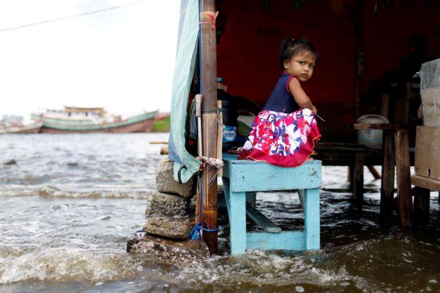 Η κλιματική κρίση απειλεί 1 δισεκατομμύριο παιδιά