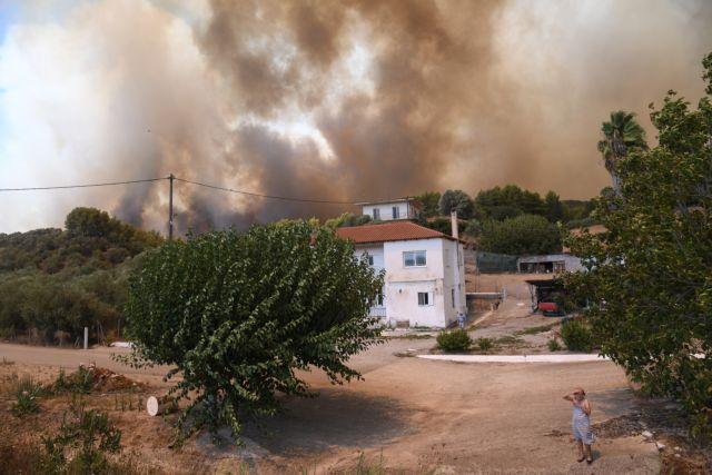Φωτιά στην Αρχαία Ολυμπία – Καταστράφηκαν 140.000 στρέμματα γης – Το 70% ήταν καλλιεργήσιμες εκτάσεις