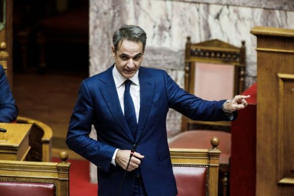 The politically wounded Mr. Mitsotakis