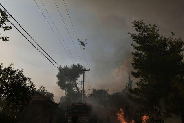 Φωτιές – Απαγορεύονται οι μετακινήσεις σε δάση, εθνικούς δρυμούς και άλση
