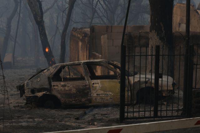 Φωτιά στην Αχαΐα – Συνεχίζεται η μάχη με τις φλόγες – 16 τραυματίες, «στάχτη» 20 σπίτια